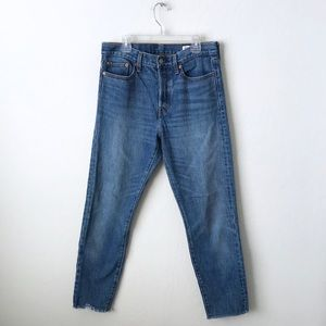 Levi's Wedgie Raw Hem Denim
